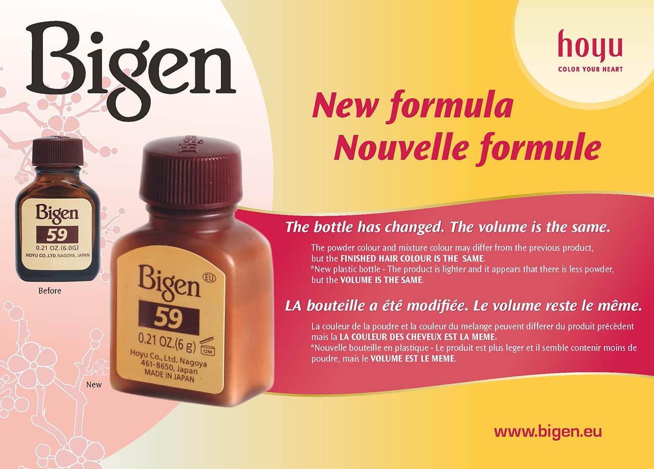 New formula - The bottle has changed